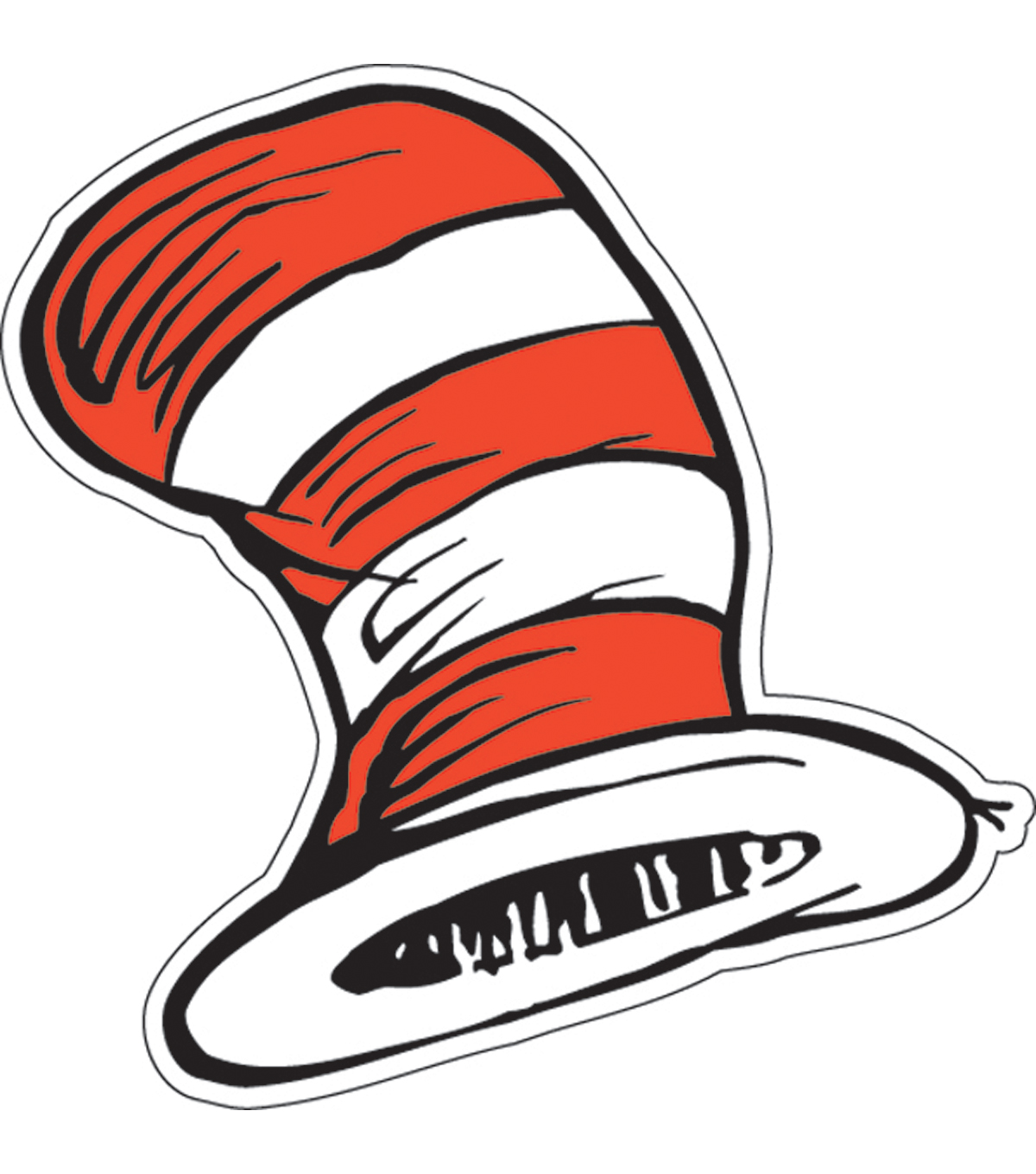 Dr Seuss Cat In The Hat Paper Cut Outs