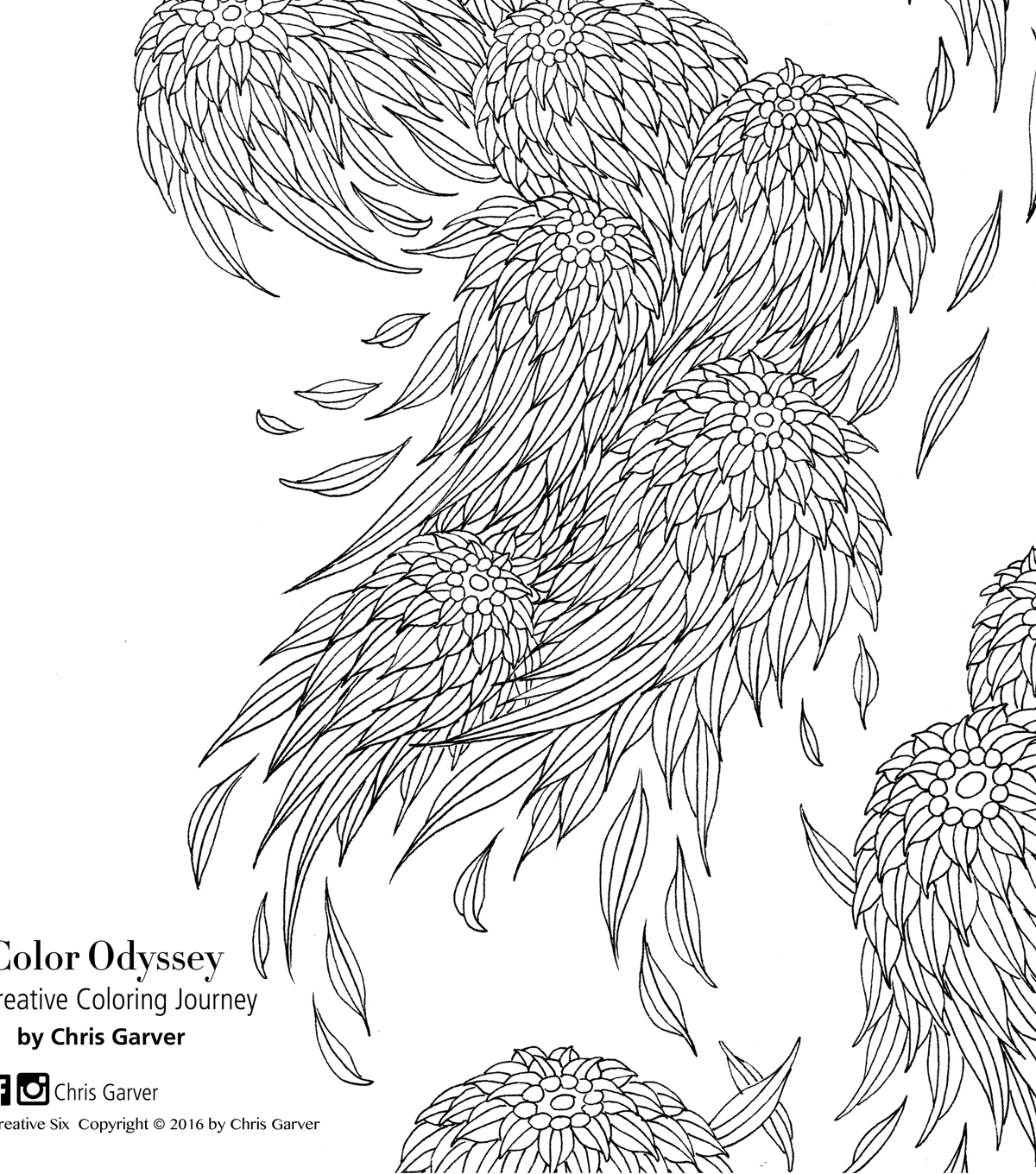 Color Odyssey: A Creative Coloring Journey Coloring Book