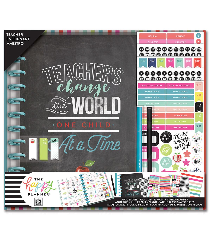 The Happy Planner Big Planner Box Kit Teacher