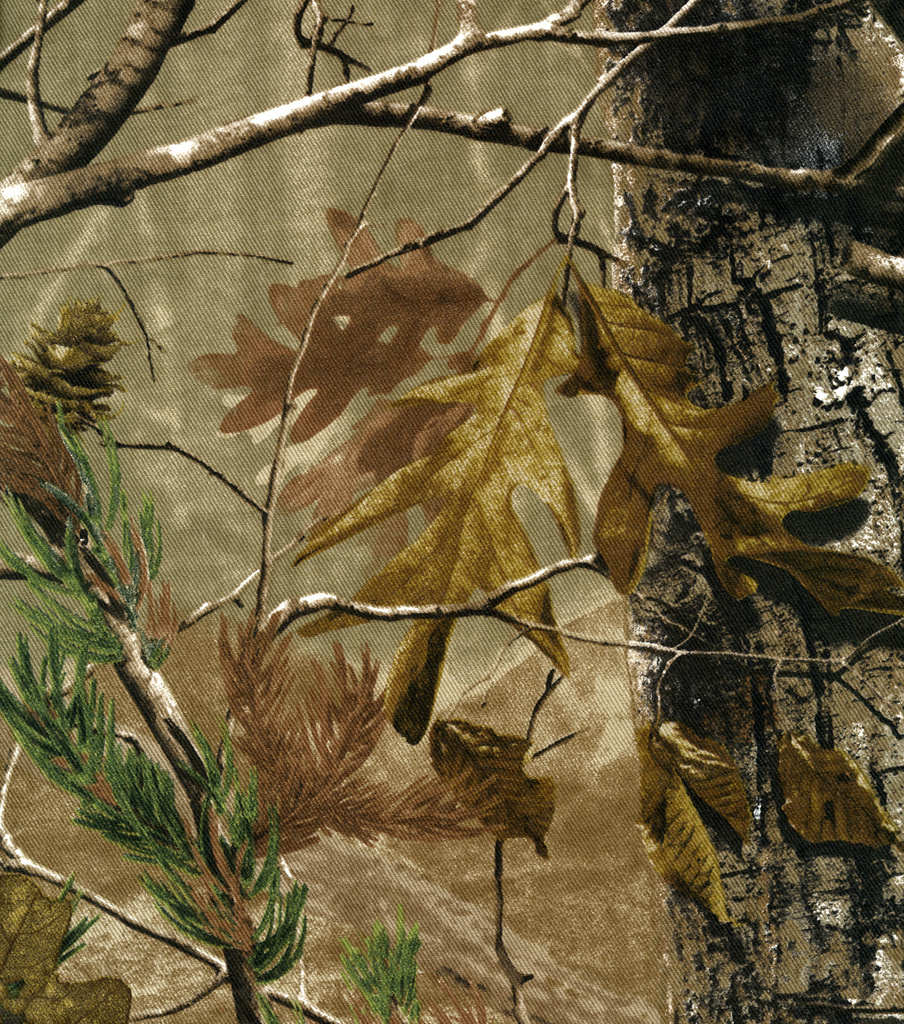 realtree twill fabric camouflage