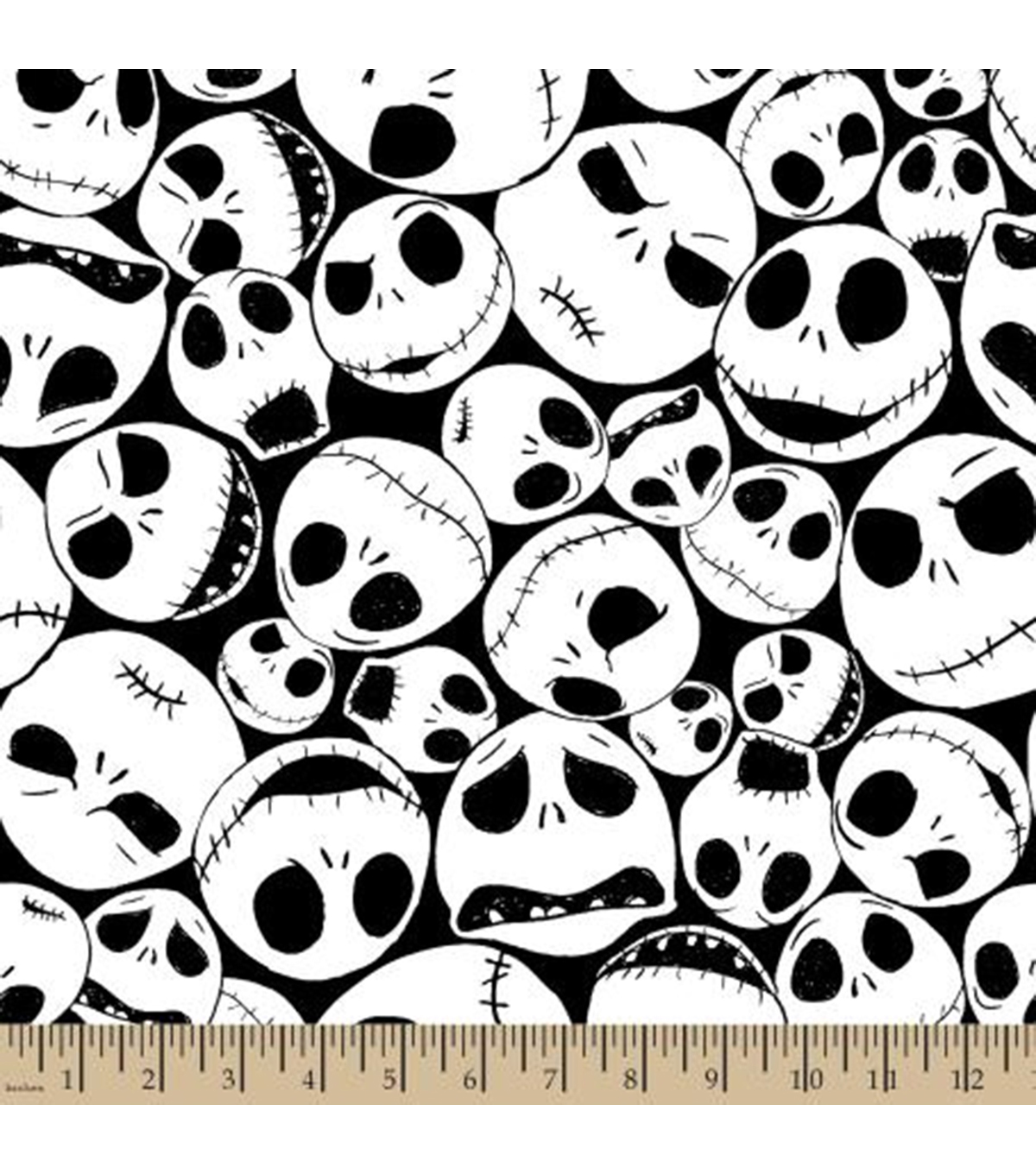 hight resolution of nightmare before christmas halloween fleece fabric packed jack