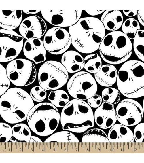 small resolution of nightmare before christmas halloween fleece fabric packed jack