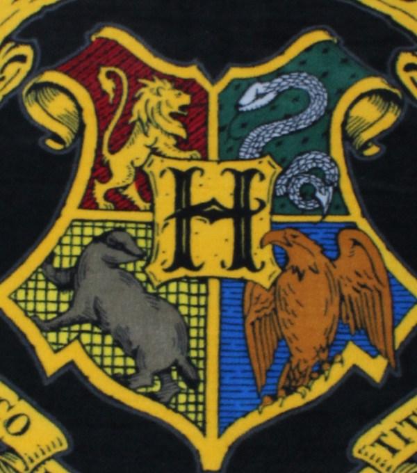Harry Potter Sew Fleece Throw 48''-hogwarts Crest Joann