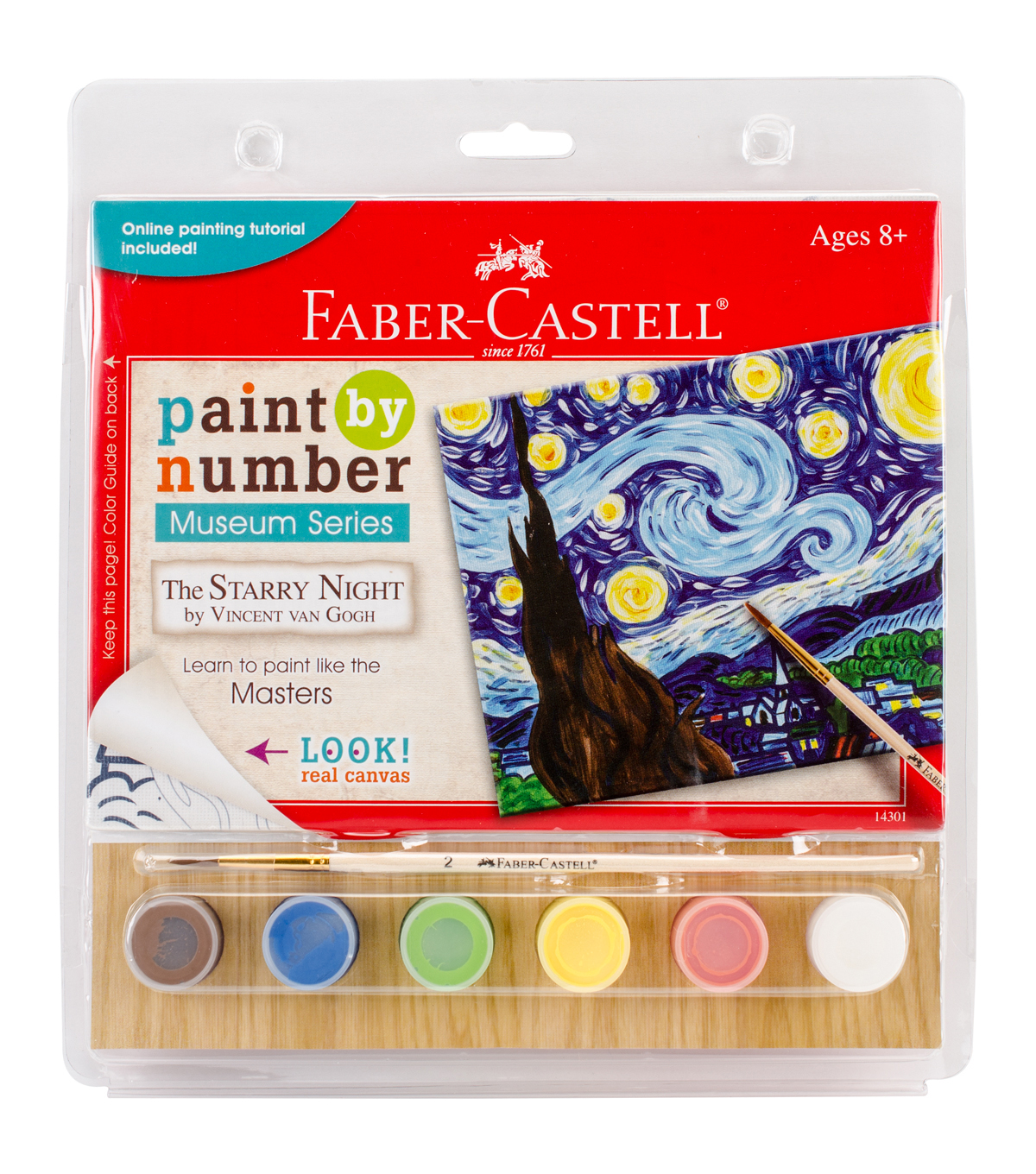 Faber Castell Museum Series Paint By Number Kit The Starry