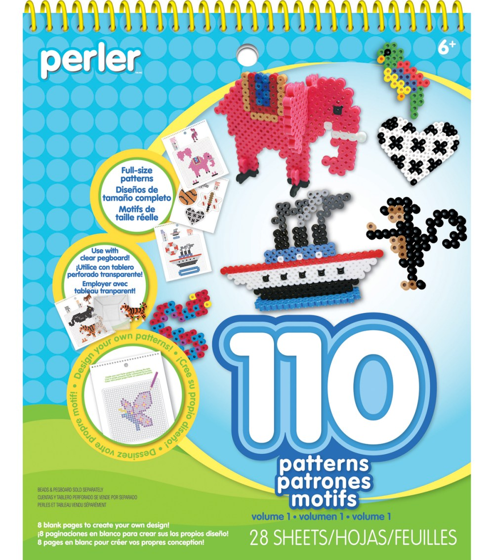 medium resolution of perler idea book pattern pad