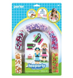 perler fun fusion fuse bead activity kit tea party [ 1200 x 1360 Pixel ]