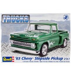 plastic model kit u002765 chevy stepside pickup 2 in 1 1  [ 1200 x 1360 Pixel ]