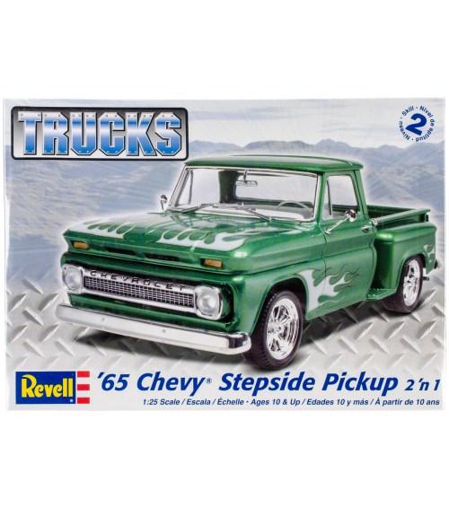 small resolution of plastic model kit u002765 chevy stepside pickup 2 in 1 1