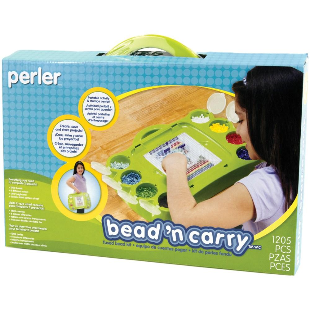 medium resolution of perler bead u0027n carry fun fusion fuse bead kit