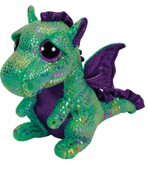 TY Beanie Boo Cinder Green Dragon JOANN