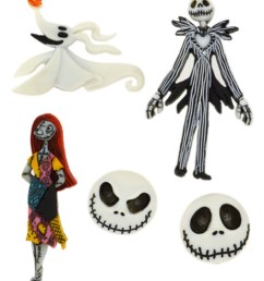 dress it up embellishments disney the nightmare before christmas [ 1200 x 1360 Pixel ]