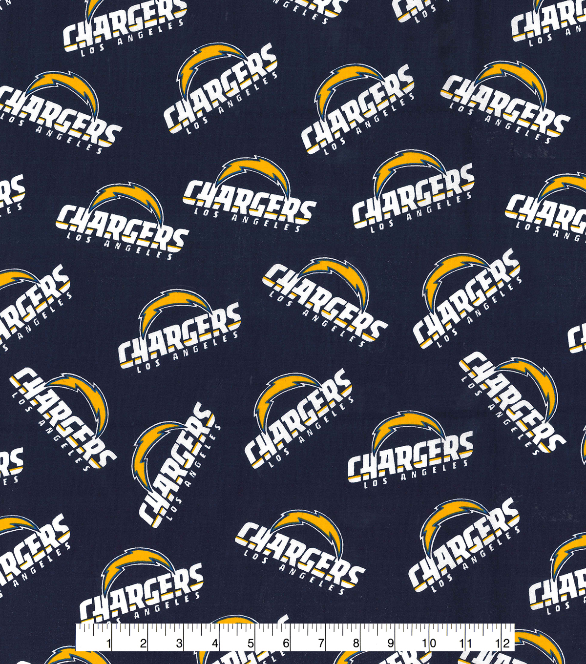 los angeles chargers cotton