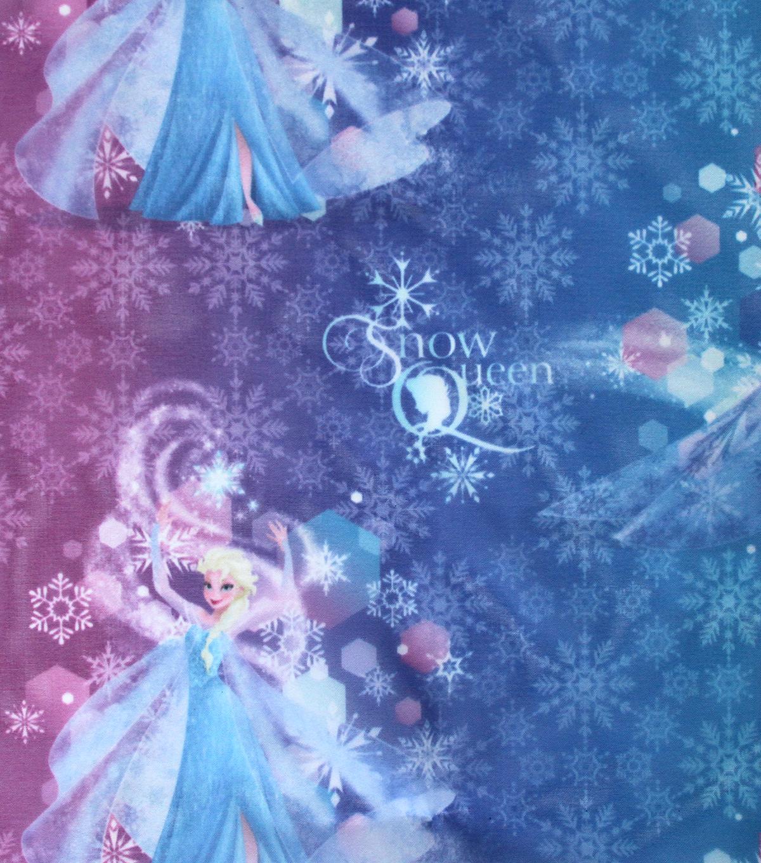 disney frozen sheer fabric