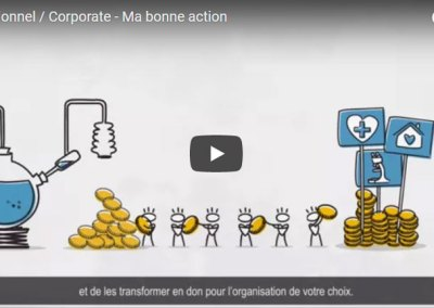 Institutionnel / Corporate – Ma bonne action
