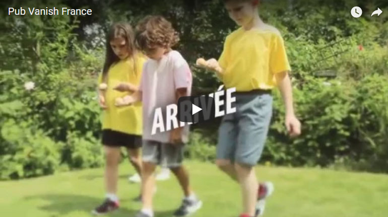 Publicité Youtube – Vanish France