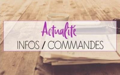 ACTUALITE / INFOS VOIX OFF / COMMANDES