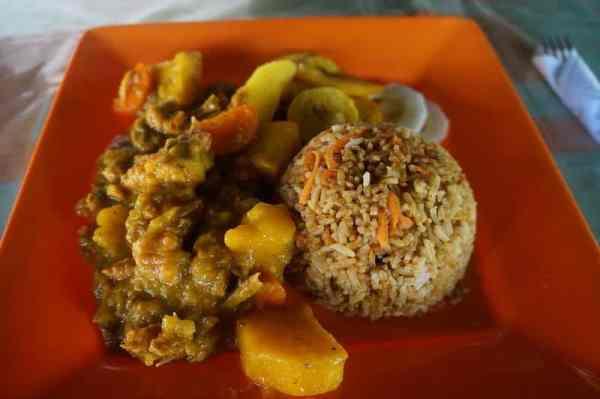 iguana dish