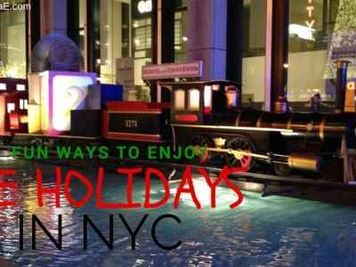 Fun Ways To Enjoy the Holidays in NYC