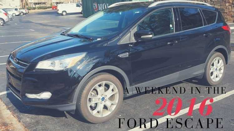 A Weekend in the 2016 Ford Escape