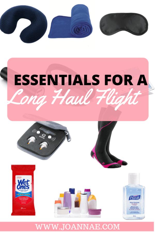 Essentials For a Long Haul Flight