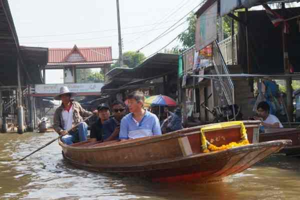 The Damnoen Saduak Floating Market