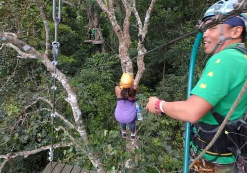 Zipline with Flight of the Gibbon