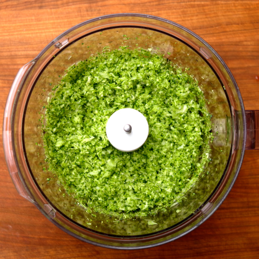 TSL Minted Zucchini and Broccoli  Rice