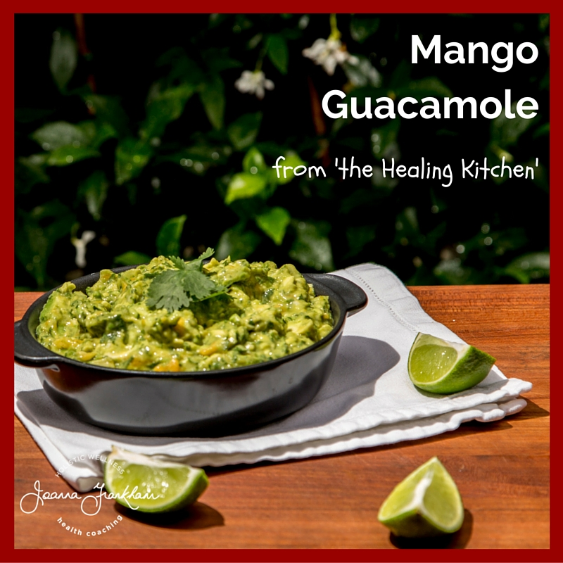 The Healing Kitchen Mango Guacamole