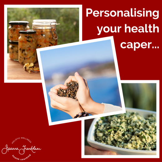 Personalising your health journey