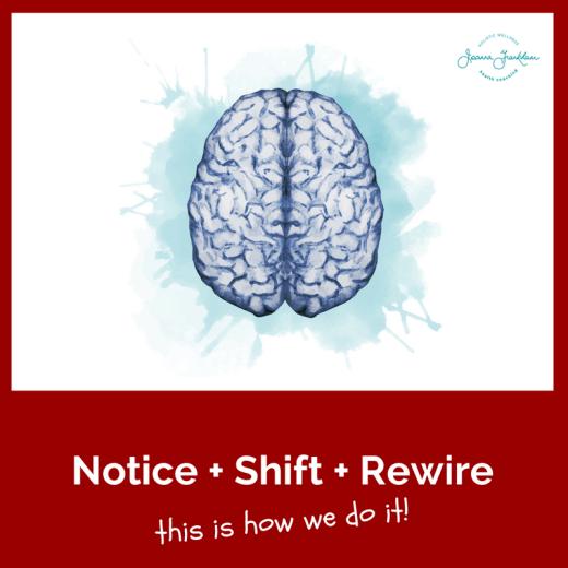 Notice Shift Rewire