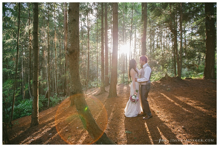 Best wedding forest photos in Seattle, natural & timeless