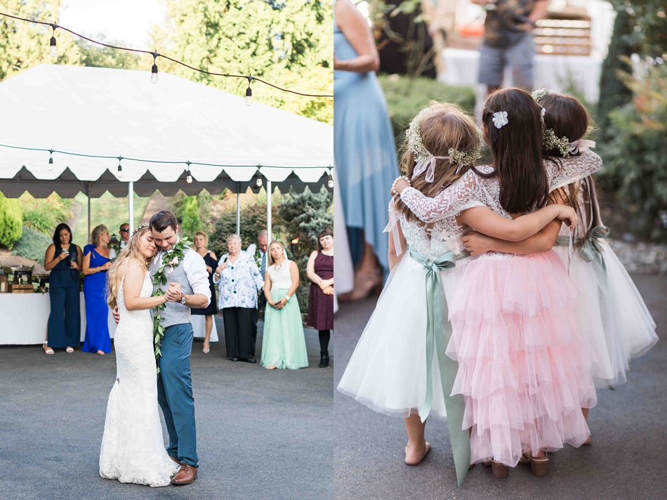 Such cuteness at Twin Willow Gardens in Snohomish. Photographs by Joanna Monger Photography, Snohomish's Best Wedding Photographer.