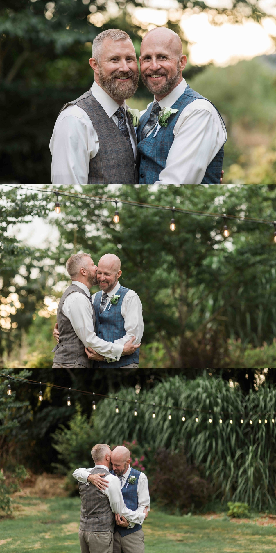 A wedding in the woods at Falling Water Gardens in Monroe. Photos by Joanna Monger Photography, Snohomish and Seattle Wedding Photographer.