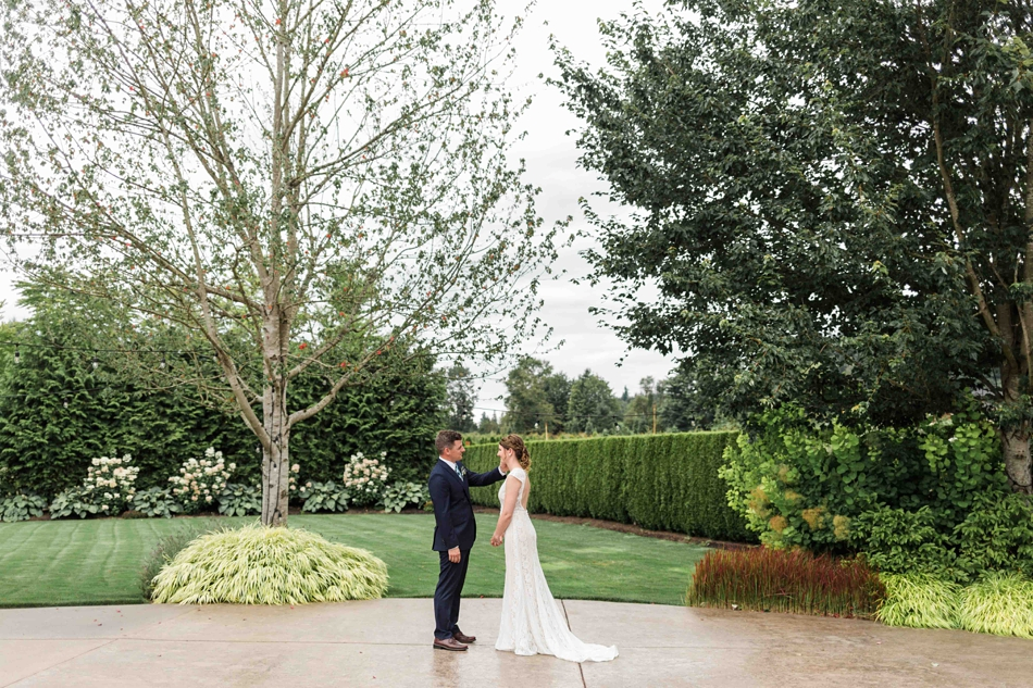 A beautiful landscape at Pine Creek Nursery in Monroe. Photos by Joanna Monger Photography, Snohomish and Woodinville Wedding Photographer.