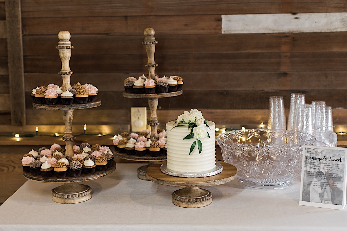 What an amazing cake at Craven Farms in Snohomish. Photographs by Joanna Monger Photography, Award Winning Snohomish Wedding Photographer.