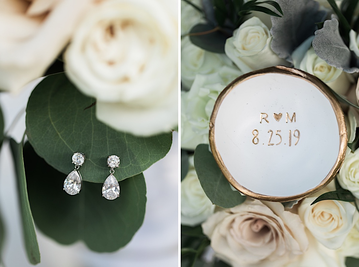 Beautiful Jewelry at Craven Farms in Snohomish. Photos by Joanna Monger Photography, Snohomish and Woodinville Wedding Photographer.