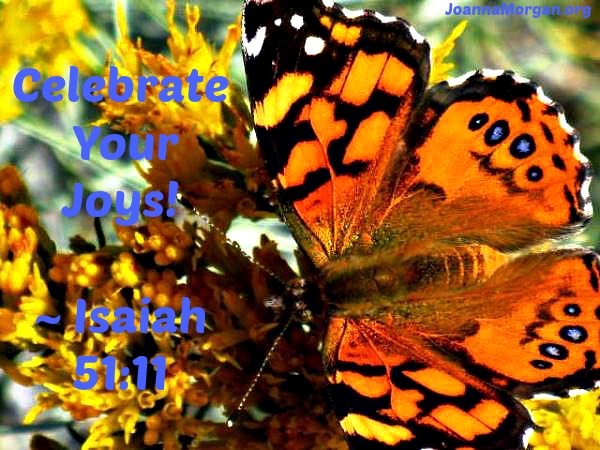 Celebrate Your Joys by Joanna Morgan 2-22-14 Blog