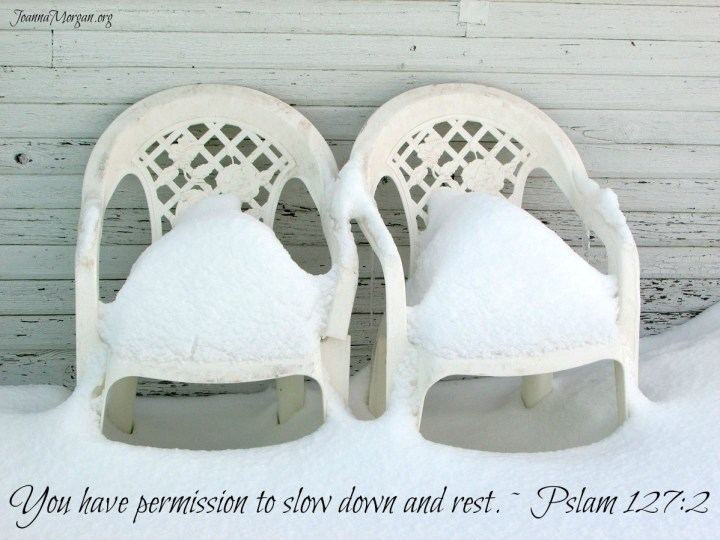 Permission to Slow Down by Joanna Morgan