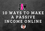 10 ways to make a passive income online