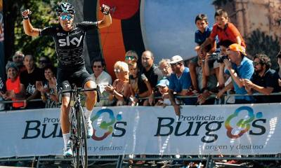 Landa en la Vuelta a Burgos