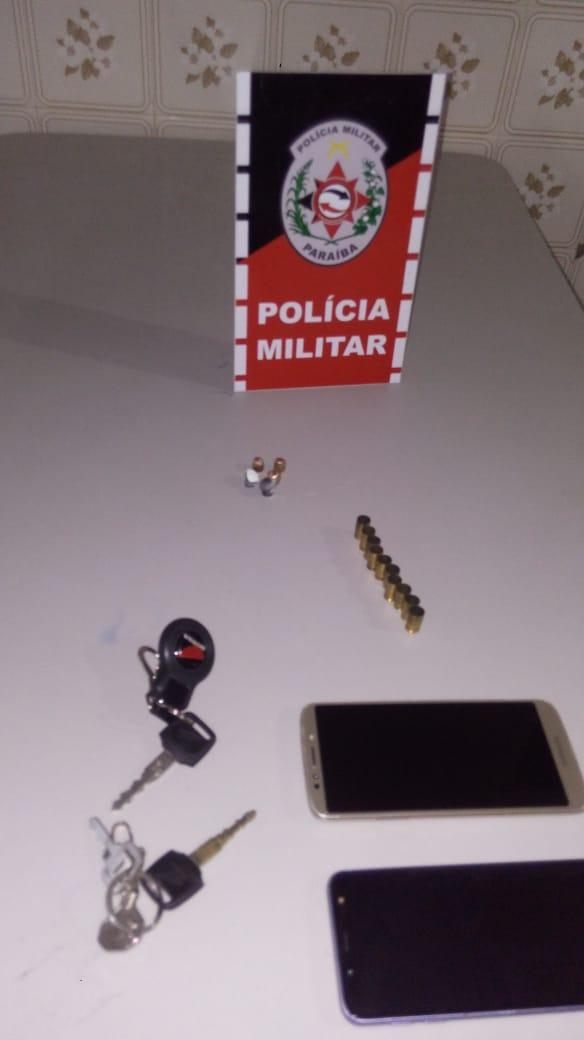 POLICIA MILITAR PRENDE EM FLAGRANTE TRÊS INDIVÍDUOS POR TENTATIVA DE HOMICÍDIO NA CIDADE DE POMBAL