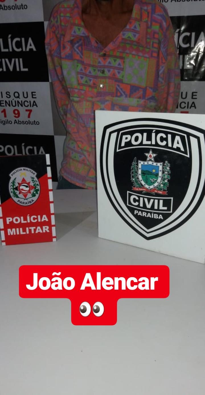 POLÍCIAS MILITAR E CIVIL PRENDEM FORAGIDO DA JUSTIÇA DO RN NA ZONA RURAL DE CATOLÉ DO ROCHA