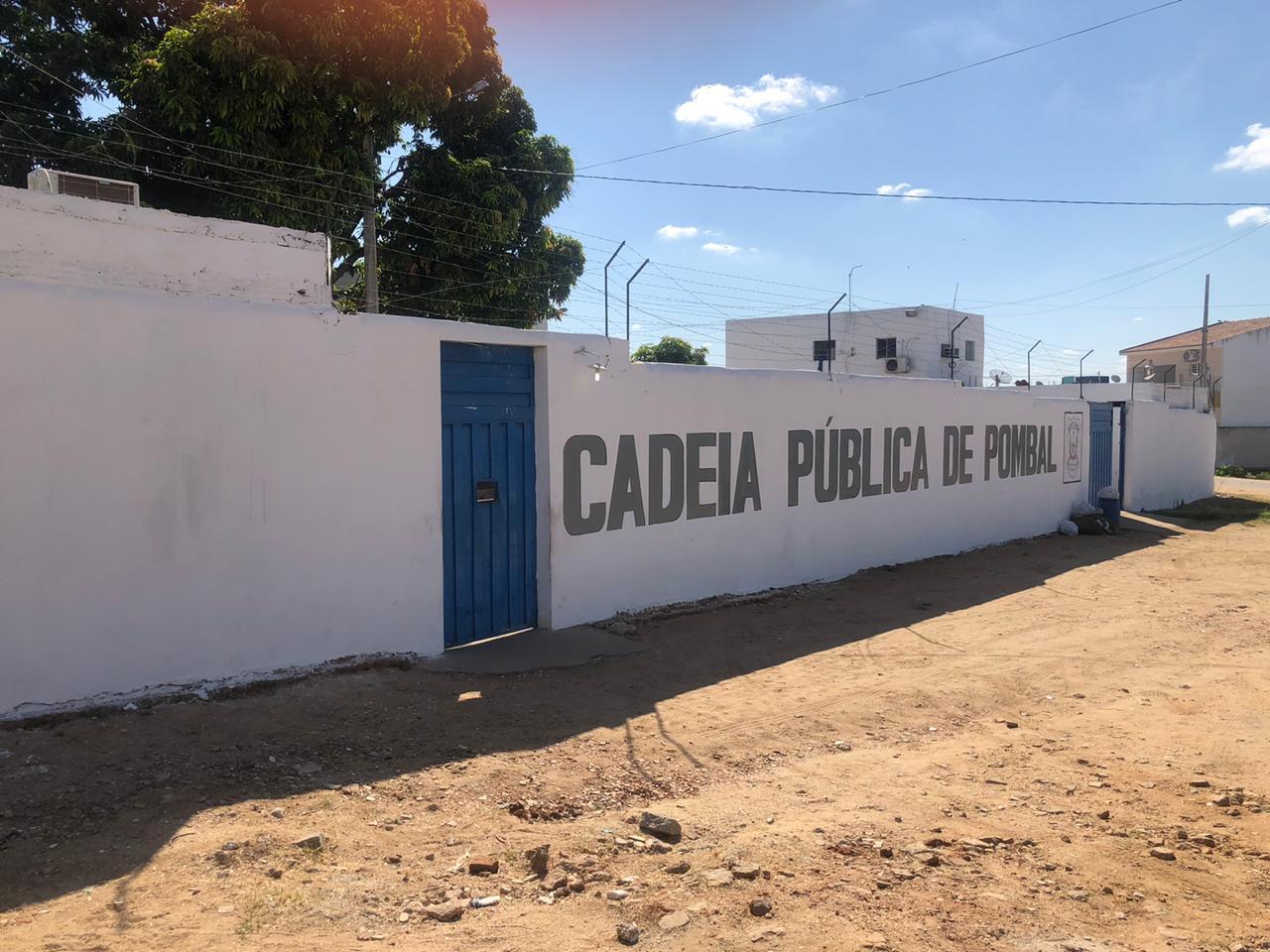 A direção da Cadeia Publica de Pombal
