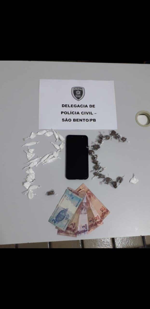 EM MEIO A PANDEMIA, POLÍCIA CIVIL ESTOURA BOCA DE FUMO EM SÃO BENTO