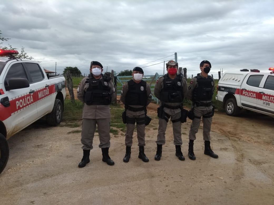 COMPANHIA DE POLICIA DE POMBAL IMPLANTA OPERAÇÕES EM ROTAS DE PATRULHAMENTO RURAL
