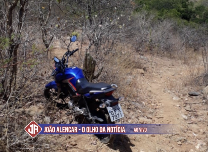 Polícia Civil de Pombal recupera moto que foi roubada na manhã desta segunda-feira.
