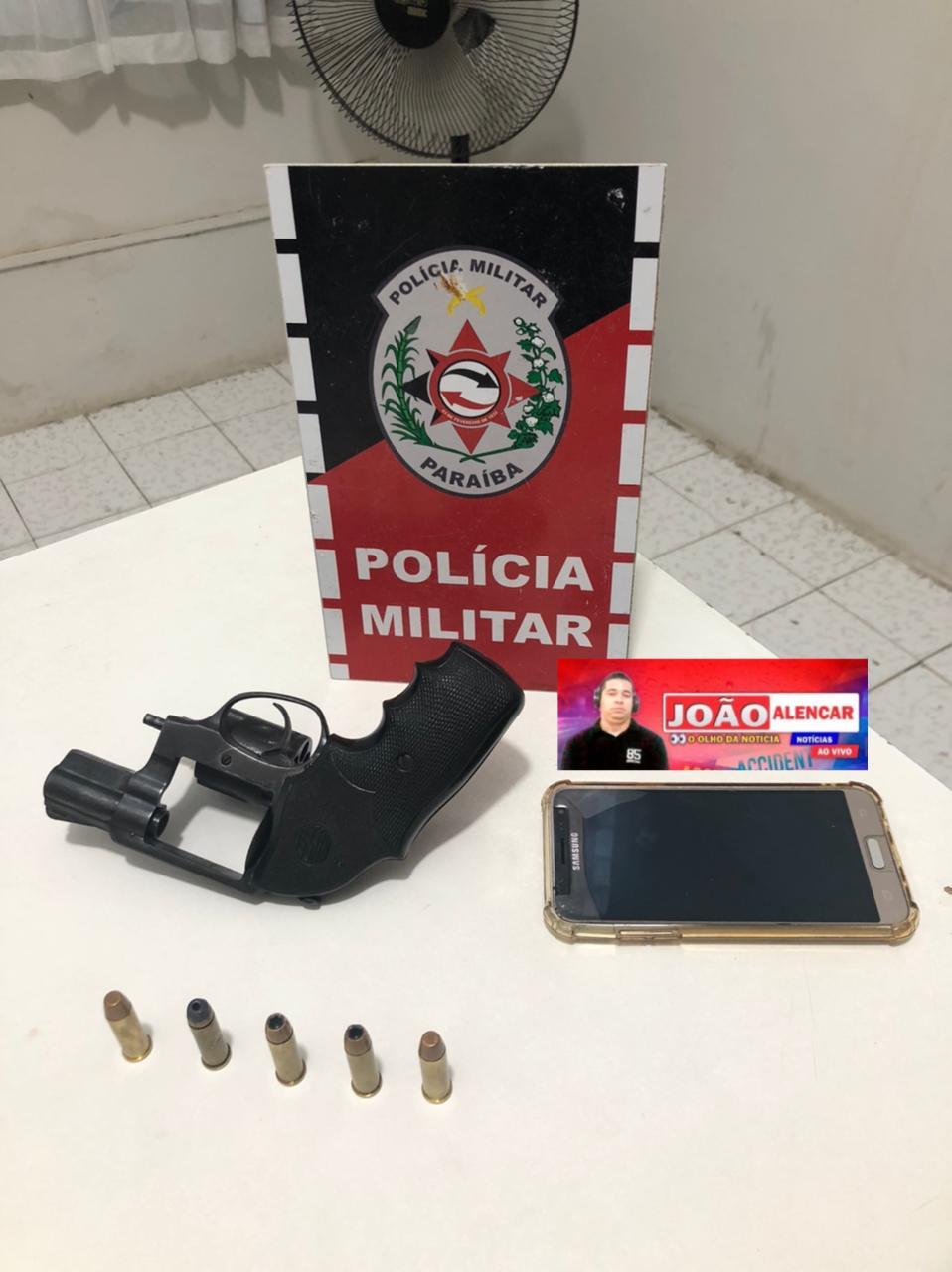 Exclusivo POLICIA MILITAR APREENDE TERCEIRA ARMA DE FOGO EM MENOS DE DOIS DIAS, EM POMBAL