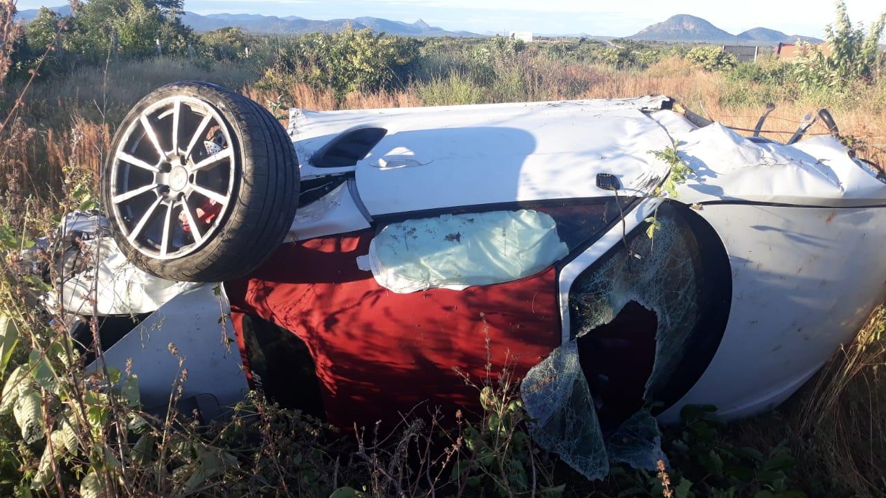 Grave acidente de trânsito deixa jovens feridos na BR-230, próximo ao município de Aparecida