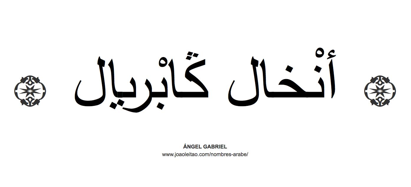 Nombres En árabe Descubre La Caligrafía Oriental