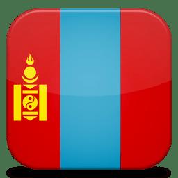 Bandeira Mongolia